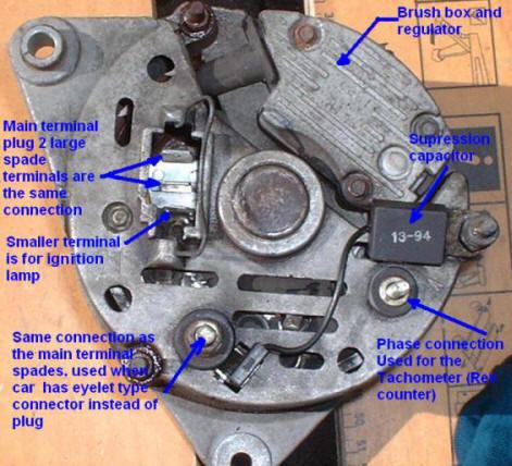 Alternator Wiring Query Pinto Mk1 Amp Mk2 Escorts Old
