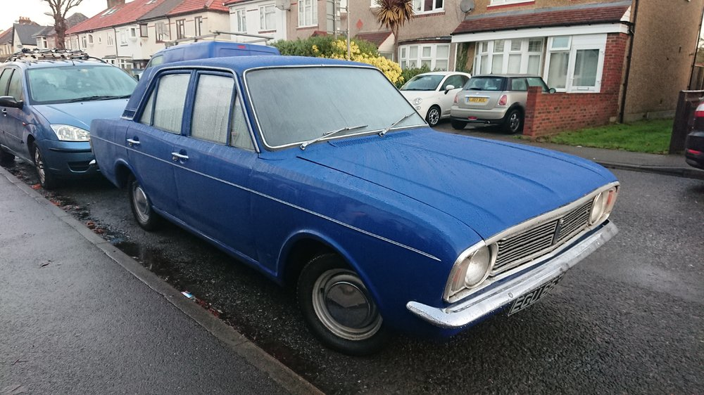1970 Cortina - as it arrived at home.JPG